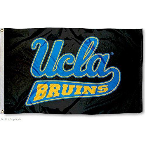 UCLA Large Blackout 3x5 College Flag