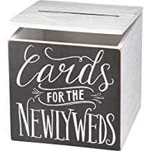 """Primitives by Kathy Wedding Card Box, 8"""" x 8"""" x 8"""", Cards for Newlyweds"""