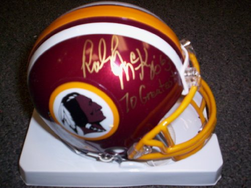 Raleigh Mckenzie Autographed Redskins Mini - Raleigh Outlets