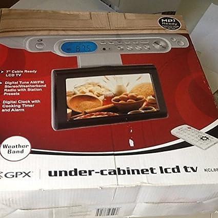 amazon com gpx under cabinet led tv home audio theater rh amazon com