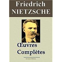 Friedrich Nietzsche : Oeuvres  complètes   (24 titres annotés) (French Edition)