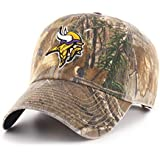 OTS NFL Minnesota Vikings Men's Challenger Adjustable Hat, Realtree, One Size