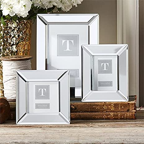 Amazon.com - Two\'s Company Set of 3 Beveled Mirrored Frames -