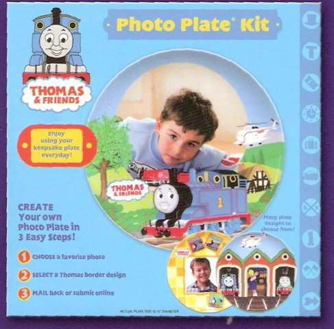 Makit Thomas Make A Plate Photo Plate Kit -