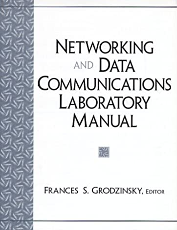 networking and data communications laboratory manual frances s rh amazon com data communication and computer networking lab manual Background Data Communications Design