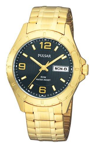 (Pulsar Men's PXN174 Expansion Black Dial Watch)