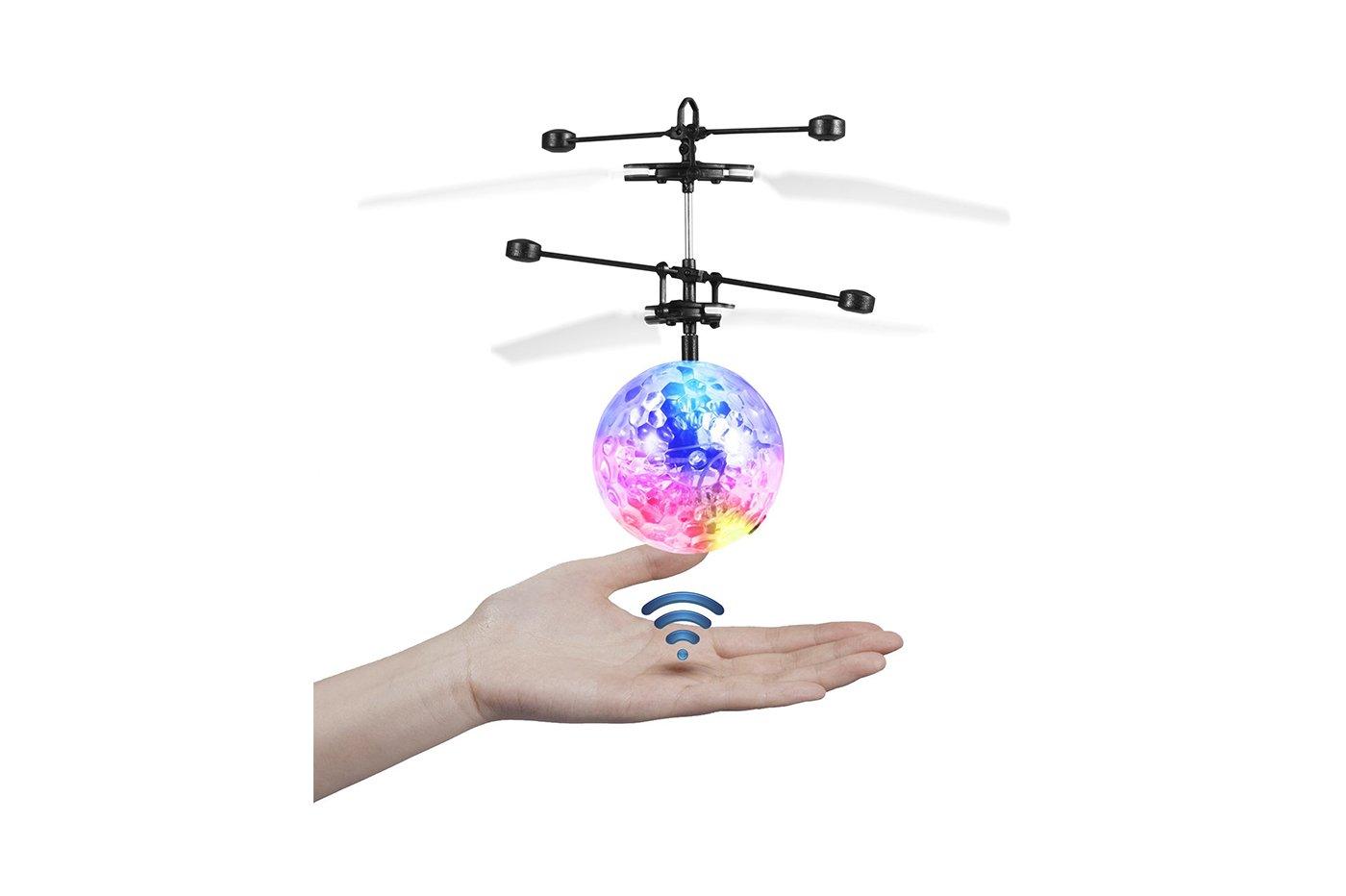 Mini elicottero a sfera volante palla luminosa gioco bambini mini flyer Senza marca/Generico