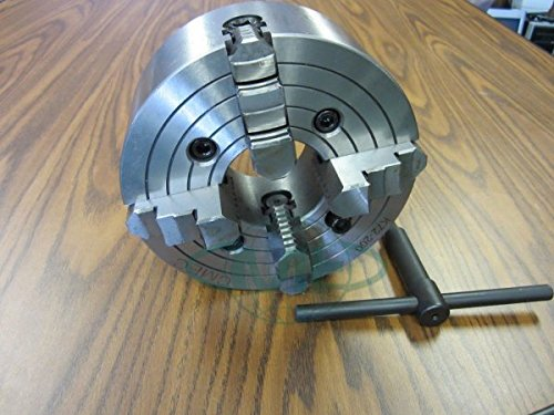 10'' 4-JAW LATHE CHUCK with independent jaws by CME
