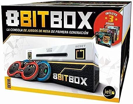 Devir 8Bit Box - Juego Videoconsola de Tablero, Castellano ...