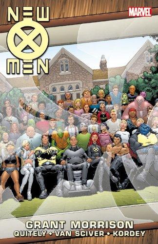 New X-Men by Grant Morrison Book 3 (X Men Book)