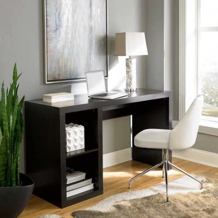 Better Homes Gardens Desk Organizer Office Holder Storage Cube Organizer Desk with Timeless Design Available in Multiple Finishes 54.02 in W x 19.69 in D x 30.91 in H.