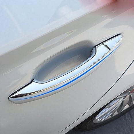 Amazon Abs Chrome Exterior Car Door Handle Cover Trim 8pcs For