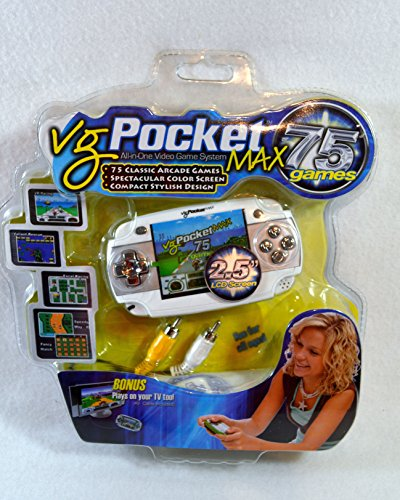 VG Pocket Max All-In-One Handheld Video Game System