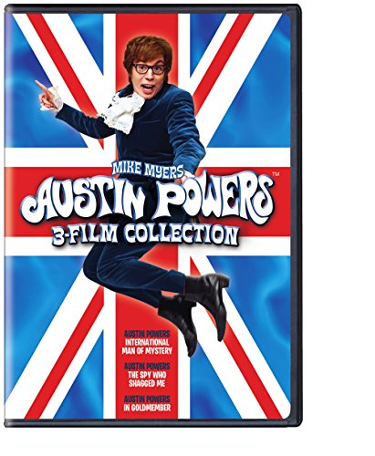 DVD : Austin Powers: 3 Film Collection (Widescreen, Eco Amaray Case, 2 Disc)