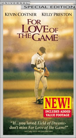 For Love of the Game [VHS] (Michael Shaara For Love Of The Game)