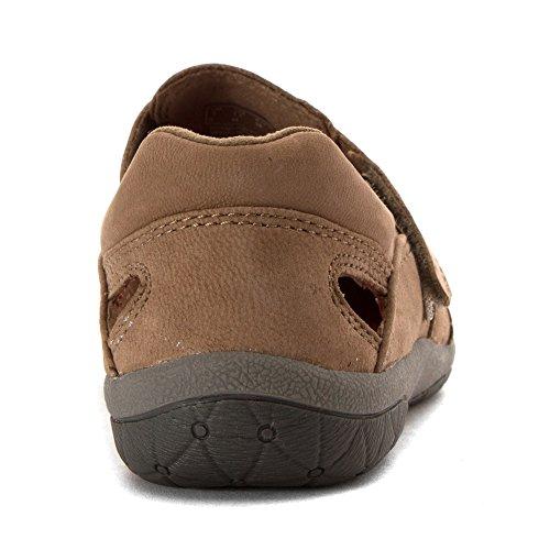 Clarks Womens Terra Pryder Mode Sneakers Mörk Taupe Nubuck