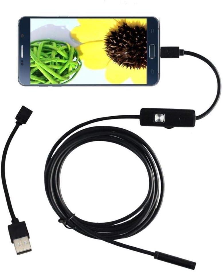 Color : 2m Endoscope Cam/éra Endoscope inspection Cam/éra /étanche Borescope for ordinateur portable Android PC