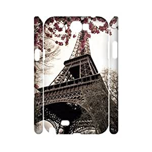 FLYBAI Tower Phone 3D Case For Samsung Galaxy Note 2 N7100 [Pattern-2]