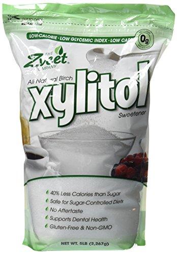 (Zveet Birch Xylitol Sweetener (Made in USA) (5 LB))