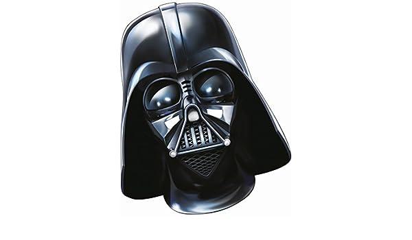 Máscara Darth Vader Careta papel Star Wars Adulto Antifaz guerrero Maestro Sith El despertar de la fuerza mascarilla Careta Jedi Lord Vader Accesorio ...