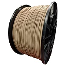 MG Chemicals Wood 3D Printer Filament, 1.75mm, 1 Kg (2.2 lbs.) - Wood