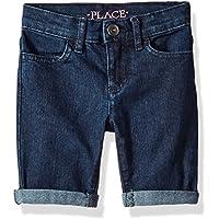 The Children's Place Girls' Basic Denim Skimmer Shorts,