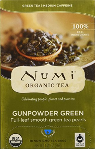 Numi Tea Gunpowder Green bags