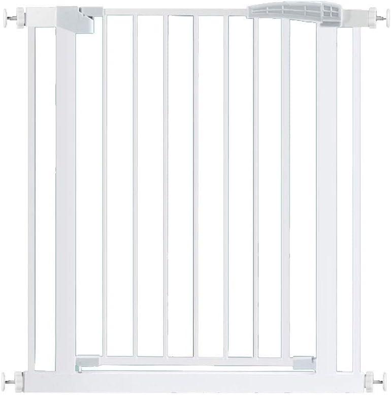 ベビーフェンス ペットドアの安全ゲート出入り口階段のための余分なワイドホワイトメタルベビーゲイツ屋内 ペットゲート (Size : 222cm-229cm)