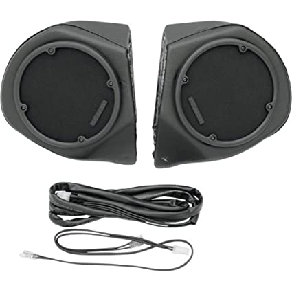 Amazon.com: Hogtunes Rear Speaker Pod Ss only for 1996-2013 ... on harley-davidson quick disconnect harness, harley tour-pak bushings, harley trunk,