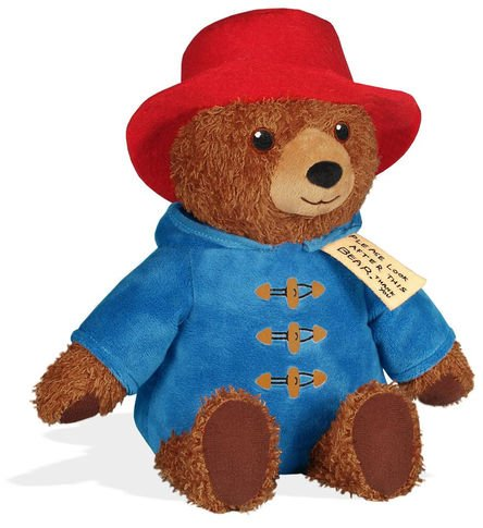 Paddington 8.5 inch Talking Plush Figure - PADDINGTON BEAR - Hear Paddington Say One of Three Fun Phrases When You Squeeze His Belly, Includes Signature