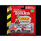 Tonka - Lil' Chuck & Friends - Lil' Chuck Hauler Truck with Seymour Starz Rocket