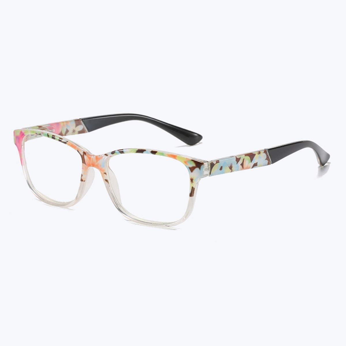 LGQ 2021 Nuevas Gafas de Lectura de Moda, Lentes de luz Anti-Azul, no se desvanecen fácilmente/Marco de PC Duradero Gafas de Alta definición para Mujer, dioptrías +1,00 a +3,00,Verde,+1.50