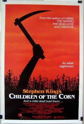 1983 Children of the Corn Original Rolled Movie Poster Steven King Linda Hamilton Peter