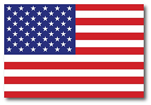American Flag Car Magnet Decal - 4 x 6 Heavy Duty for Car Truck SUV