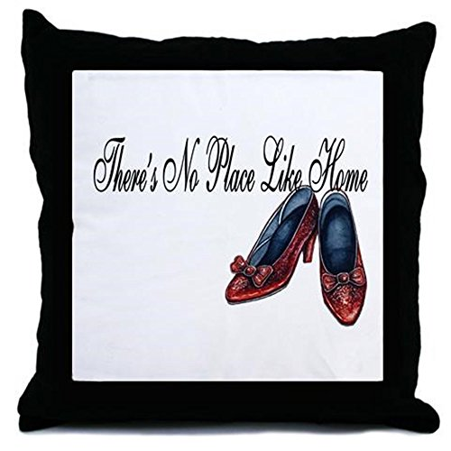 CafePress Fancy No Place Like Home - Decor Throw Pillow (18