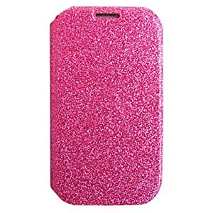 Crystal Pu Leahter Case for Samsung Galaxy S3 I9300(Assorted Color) --- COLOR:Blue