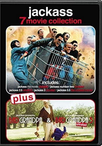 JACKASS 7-PELÍCULAS COLECCIÓN - JACKASS 7-PELÍCULAS (7 DVD)