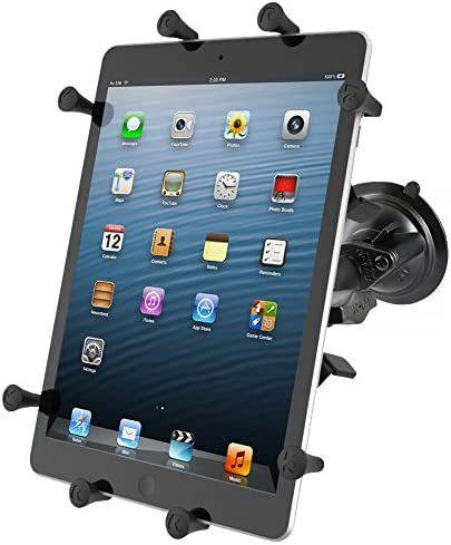 Tablette//UMPC, Active Holder, noir, Aluminium, Acier,  Kindle Fire HD 8.9/Apple iPad Air Apple iPad Air 2/Apple iPad 4/Apple iPad 3/Apple..., 25,6/& /Supports 166/ RAM Mount RAM de B-un9u Active Holder Support Noir/