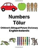 English-Icelandic Numbers/Tölur Children's Bilingual Picture Dictionary (FreeBilingualBooks.com)