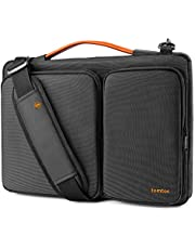 "tomtoc 14 Inch Laptop Shoulder Bag with CornerArmor Patent, 360° Protective Laptop Sleeve for 14"" Lenovo ThinkPad 