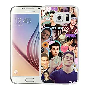 Fashionable And Unique Designed Case For Samsung Galaxy S6 Phone Case With Dylan O Brien White