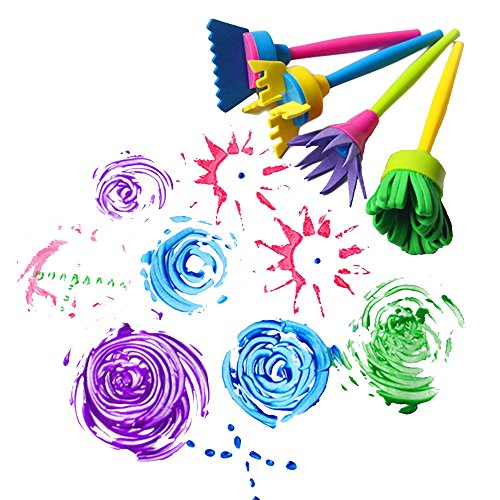 bestware-4-pcs-children-painting-brush-flower-stamp-kids-diy-graffiti-drawing-toys-cheaper-better