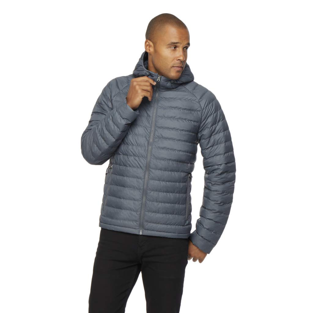 32 DEGREES Mens Ultra Light Hooded Down Packable Jacket