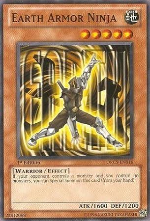 Yu-Gi-Oh! - Earth Armor Ninja (ORCS-EN016) - Order of Chaos ...