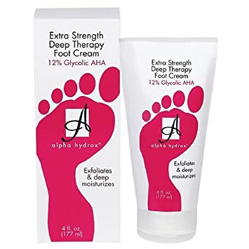 alpha hydrox foot cream