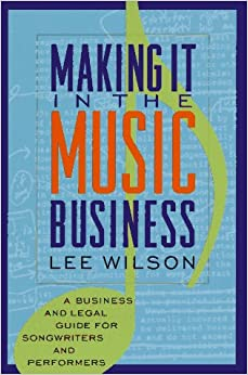 Book Making it in the Music Business