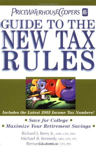 pricewaterhousecoopers-guide-to-the-new-tax-rules-2003