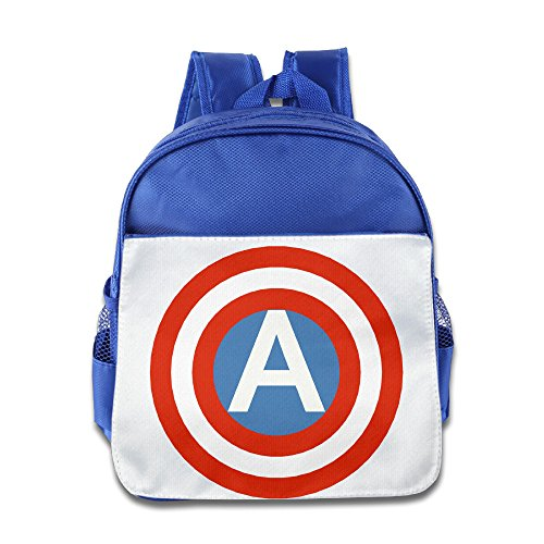 Custom American Shield Kids Children School Backpack For 1-6 Years Old (Babe Ruth Costumes For Kids)