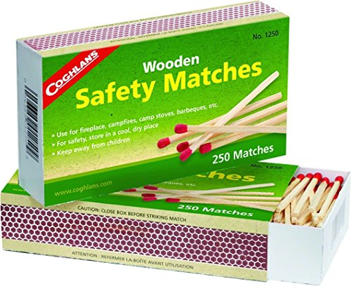 Match Kitchen - Coghlan's 1250  Wooden Safety Matches, Pack of 2