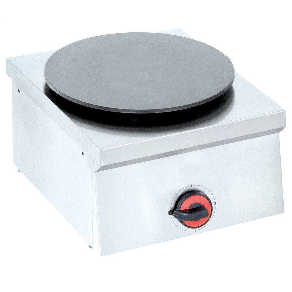 Macfrin 4418 Máquina para Hacer Crepas Eléctrica 1 Disco 40X45